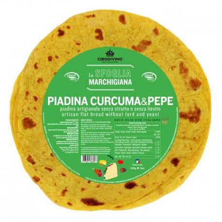 Piadina curcuma&pepe