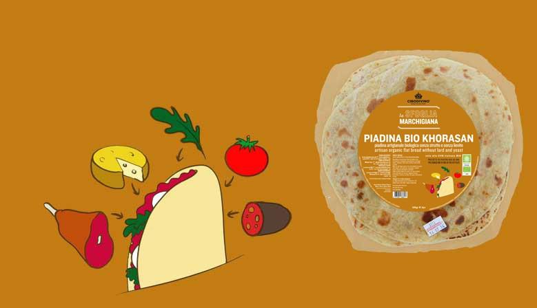 Piadina bio Khorasan